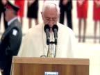 Pope Benedict XVI states that antisemitism is unacceptable