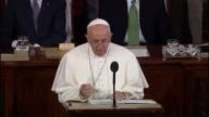 Pope Francis hearkens back to civil rights says the dream of Martin Luther King continues to inspire