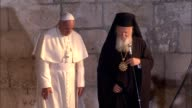 Pope Francis met Orthodox Patriarch Bartholomew I on Sunday 50 years since a landmark summit began a historic rapprochement between the Roman...