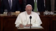Pope Francis tells members of Congress of intention that his historic speech reflect on the cultural heritage of America