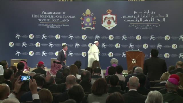 Pope Francis urged respect for religious freedom in the Middle East on Saturday and an end to persecution of Christians saying they were full...