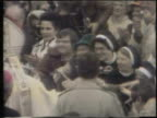 Pope John Paul II Greets Crowd In Chicago on October 04 1979 in Chicago Illinois