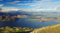 A popular hike in Wanaka, this 3 hour trek to the top of Roys Peak leads to spectacular views.