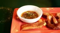 Schweinefleisch-Grill-Thai-Küche