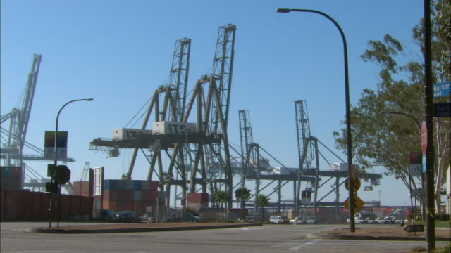 WS, Port at Long Beach Harbor, Los Angeles County, California, USA