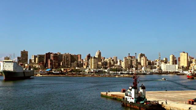 Port Abreise – Alexandria, Ägypten