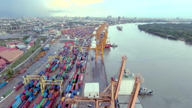 Hafen von Long Beach Luftbild