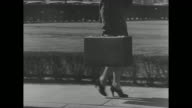 [Portion of profile including footage from across several decades this is probably from 1930s/1940s] Title 'The American Red Cross Presents Foot...
