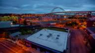 Portland über Industrial Dawn