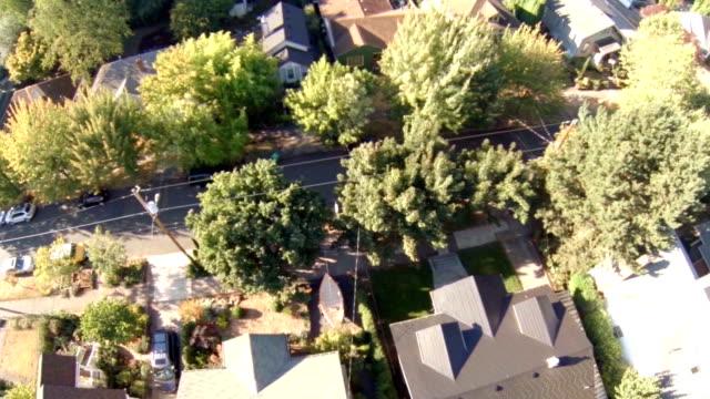 Veduta aerea del quartiere di Portland