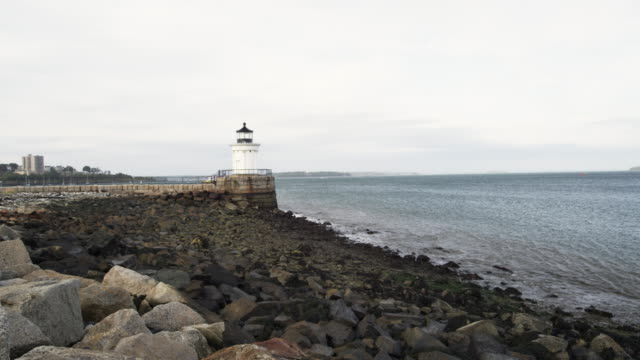 Portland harbor lighthouse
