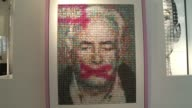 A portrait made from 5000 pornographic badges of the former head of the International Monetary Fund Dominique StraussKhan will go on display at the...