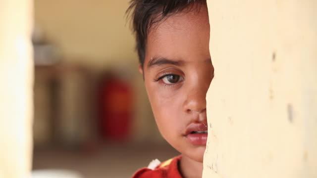 Portrait of a boy crying, Faridabad, Haryana, India