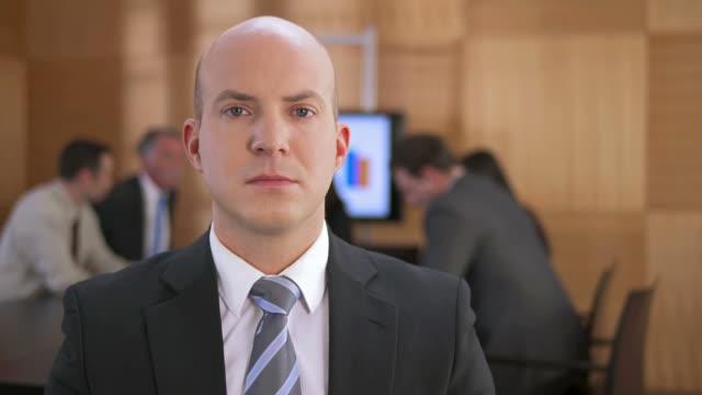 HD DOLLY: Portrait Of A Businessman