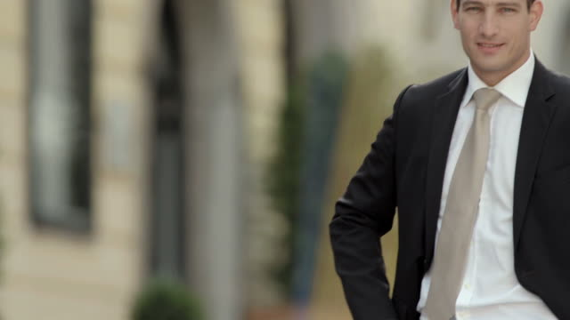 HD: Portrait Of A Confident Businessman