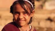 Portrait of a girl smiling, Ballabhgarh, Haryana, India