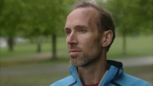 Portrait of a man, Sweden.