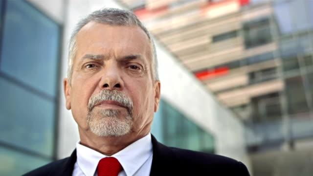 HD: Portrait Of A Mature Businessman