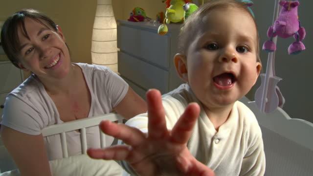 HD CRANE: Portrait Of A Sleepless Baby