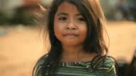 Porträt eines lächelnden Kambodschanische Mädchen