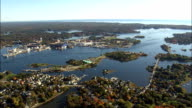 Portsmouth Harbour  - Aerial View - New Hampshire,  Rockingham County,  United States