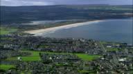 Portstewart And Beach  - Aerial View - Northern Ireland, United Kingdom