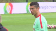 Portugal training for 2018 World Cup qualifying matches in Russia Matches against the Faroe Islands and against Hungary Training done in the city of...