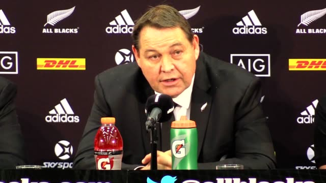 Post match press conference with All Blacks head coach Steve Hansen after they took on the Lions in a clash that ended in a 1515 draw in the third...