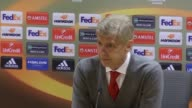 Post match press conference with arsenal manager Arsene Wenger after 31 victory against FC Köln He says his team had a 'slow start' discusses the fan...