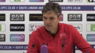 Post match press conference with Southampton manager Mauricio Pellegrino after his side's 01 victory over Crystal Palace