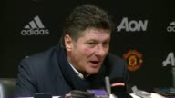 Post match press conference with Watford manager Walter Mazarri after their 20 loss against Manchester United