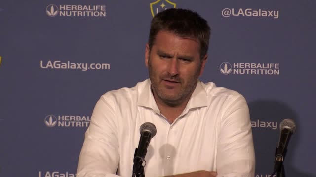 Post match press conferences with Los Angeles Galaxy coach Curt Onalfo and Manchester United manager Jose Mourinho following their 25 friendly