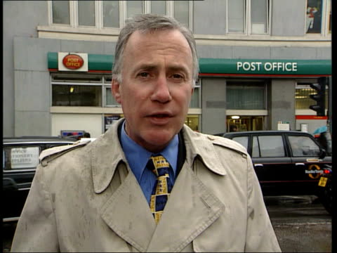 Post Office petition amidst closure fears ITN EXT i/c EN
