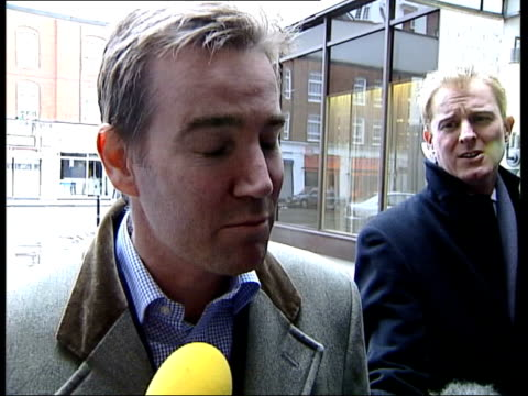 Talks with union continue ITN ENGLAND London Adam Crozier speaking to press SOT I do believe we have some pretty fundamental issues between us which...