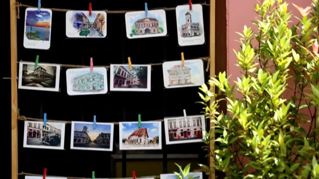 Postcard Phuket town