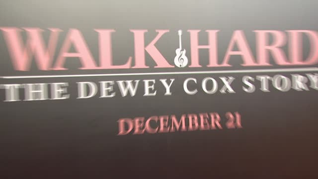 Poster at the 'Walk Hard The Dewey Cox Story' Premiere at Grauman's Chinese Theatre in Hollywood California on December 13 2007