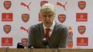 Postmatch press conference with Arsene Wenger who speaks after Arsenal beat Bournemouth 30 He says Danny Welbeck is a team player and praised his...