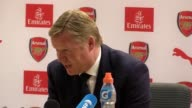Postmatch press conference with Everton manager Ronald Koeman following their 31 defeat to Arsenal in the final game of the Premier League Everton...
