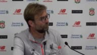 Postmatch press conference with Jurgen Klopp following Liverpool's 31 derby win over Everton He describes how his team played Mane's fitness and the...