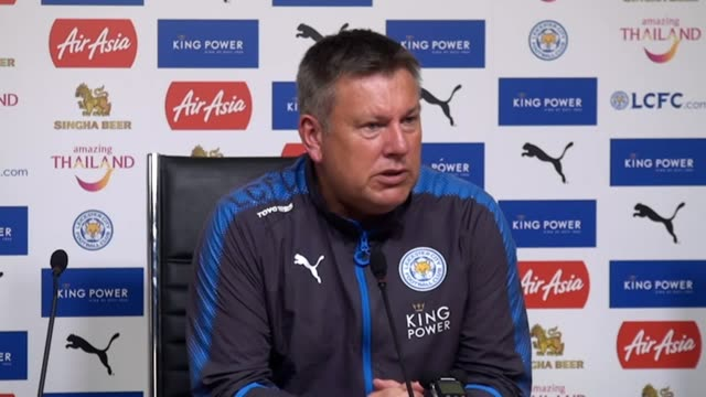 Postmatch press conference with Leicester manager Craig Shakespeare following their 32 loss to Liverpool in the Premier League