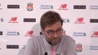 Postmatch press conference with Liverpool manager Jurgen Klopp after their 20 win against Tottenham