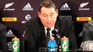Postmatch press conference with New Zealand head coach Steve Hansen and captain Kieran Read following the 2421 second Test defeat against the British...