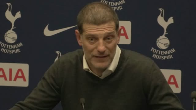 Postmatch press conference with West Ham manager Slaven Bilic following their 32 win against Tottenham in the Carabao Cup fourth round