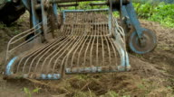 HD SLOW-MOTION: Potato harvest