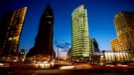 Potsdamer Platz, Berlin - Time Lapse