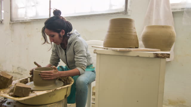 Pottery and Artist