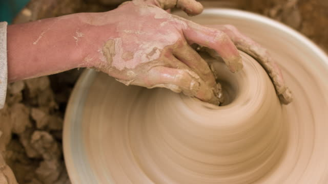 Pottery and Hands