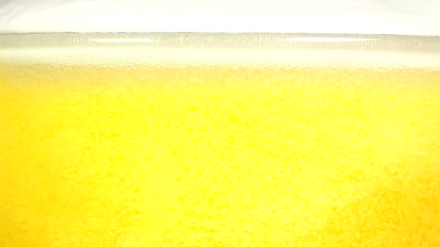 Pouring Beer, Close Up