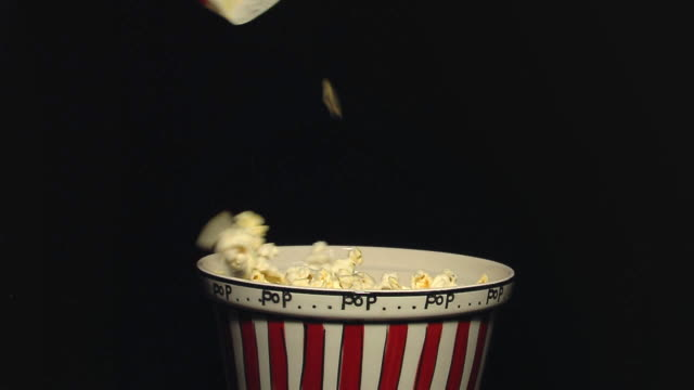 Pouring Popcorn