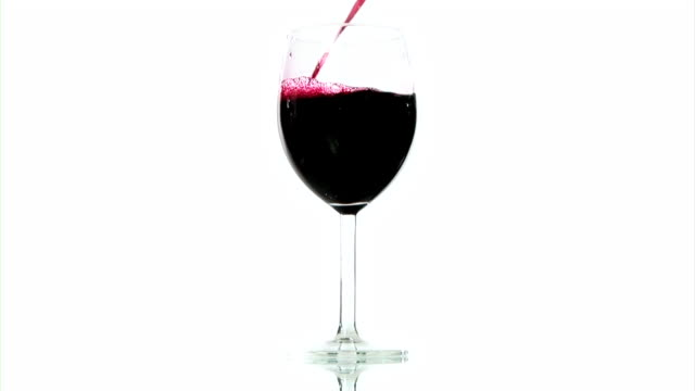 HD: Pouring Red Wine